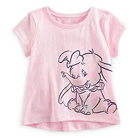 Disney's Dumbo Baby Girl Glitter Short Sleeve Graphic Tee by Jumping Beans®