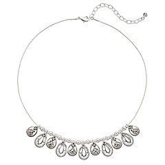 Napier Teardrop Collar Necklace