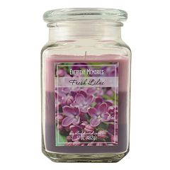 Everyday Memories Fresh Lilac 17-oz. Tri-Pour Candle Jar