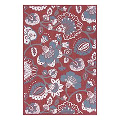 SONOMA Goods for Life™ Jacobean Floral Indoor Outdoor Rug