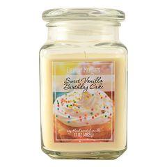 Everyday Memories Sweet Vanilla Birthday Cake 17-oz. Candle Jar