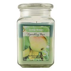 Everyday Memories Sparkling Pear 17-oz. Tri-Pour Candle Jar