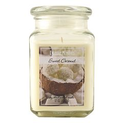 Everyday Memories Sweet Coconut 17-oz. Candle Jar