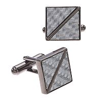 Men's Apt. 9® Carbon Fiber Cuff Links
