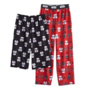 Boys 6-16 Star Wars Lounge Pants & Shorts Set