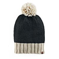 Women's Keds Two Tone Pom Beanie