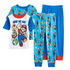 Boys 4-10 Super Mario Bros. 4 pc Pajama Set