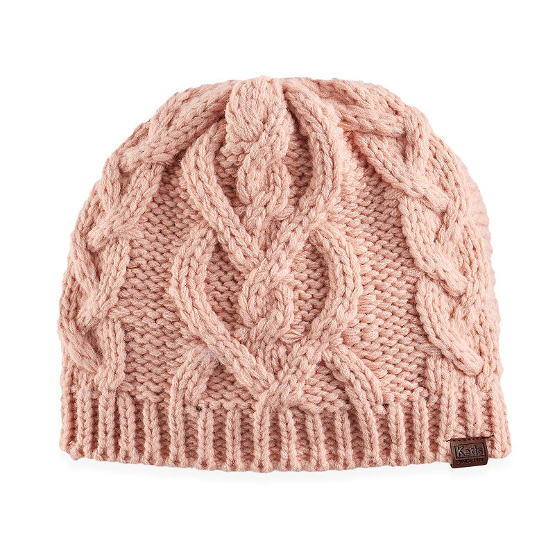 c080b8880df Women s Keds Chunky Cable Knit Beanie