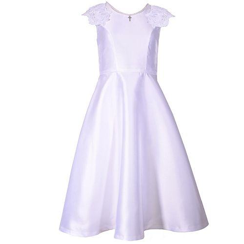 Girls 7-16 Bonnie Jean Mikado Dress
