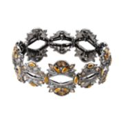 Simply Vera Vera Wang Marquise Cluster Stretch Bracelet