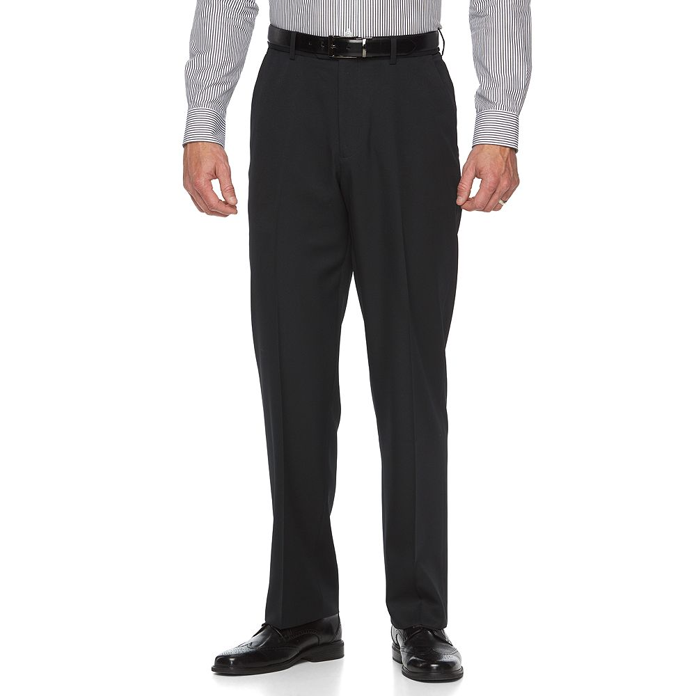 Big & Tall Croft & Barrow® Classic-Fit Easy-Care Flat-Front Dress Pants
