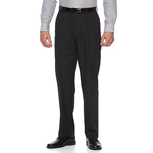 Big & Tall Croft & Barrow® Classic-Fit Easy-Care Flat-Front Dress Pants