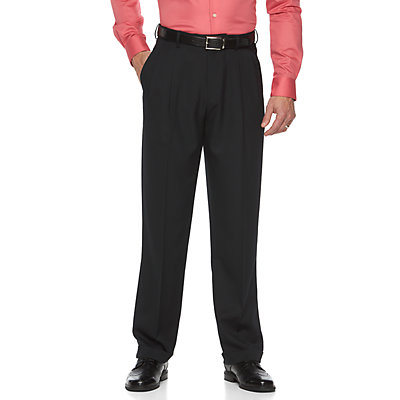 Big & Tall Croft & Barrow® Classic-Fit Easy-Care Pleated Dress Pants