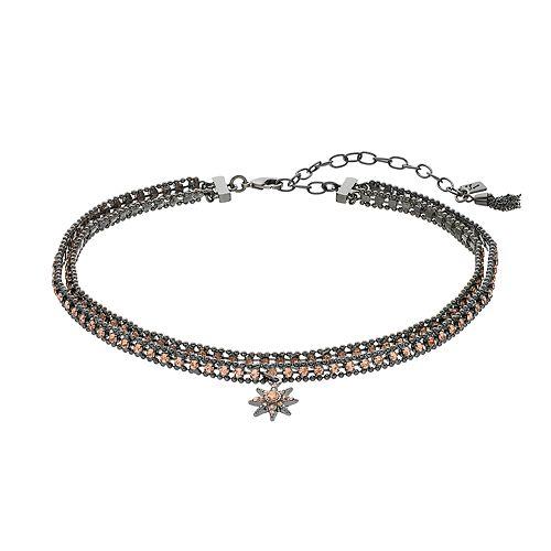 Simply Vera Vera Wang Starburst Choker Necklace