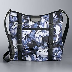 Simply Vera Vera Wang Floral Gila Crossbody Bag