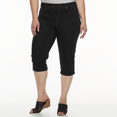 Plus Size Just My Size Pull-On Capri Jeggings