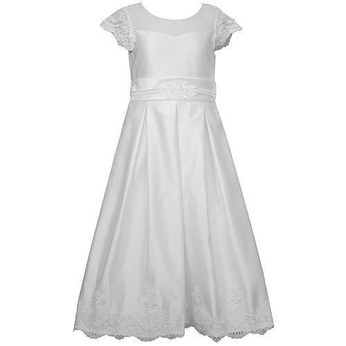 ec7e8ecdd11 Girls 7-16 Bonnie Jean Organza Pleated Illusion Dress