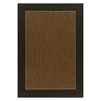 SONOMA Goods for Life™ Framed Solid Indoor Outdoor Rug