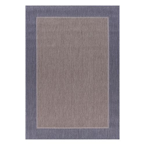 Sonoma Goods For Life Framed Solid Indoor Outdoor Rug