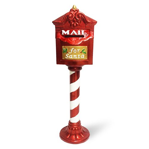 National Tree Company 36-in. Santa Mailbox Christmas Floor Decor