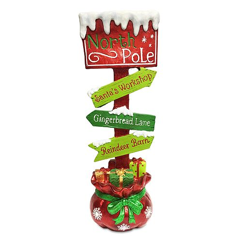 National Tree Company 36-in. North Pole Christmas Floor Decor