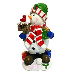 National Tree Company 13-in. Snowman 'Noel' Christmas Floor Decor