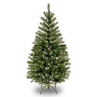National Tree Company 4-ft. Clear Pre-Lit Aspen Spruce Artificial Christmas Tree