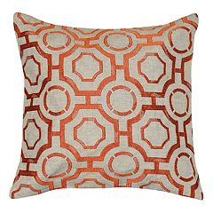 Spencer Home Decor Liam Lattice Throw Pillow
