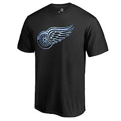 Men's Majestic Detroit Red Wings Logo Tee
