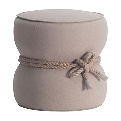 Zuo Modern Nautical Rope Ottoman