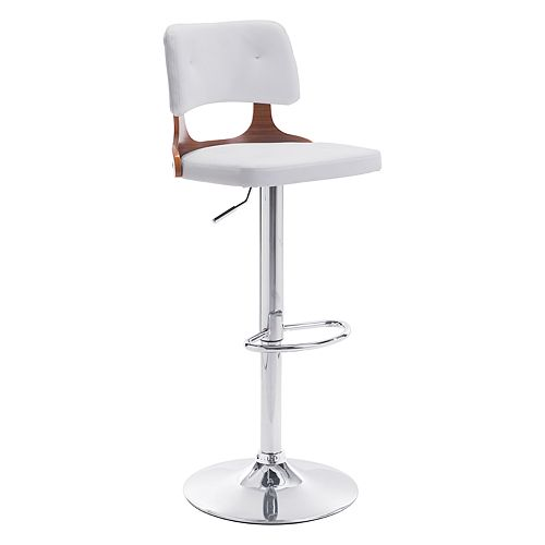 Zuo Modern Lynx Faux-Leather Adjustable Stool