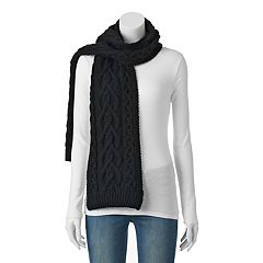 Keds Cable Knit Scarf