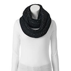 Keds Metallic Speckled Infinity Scarf