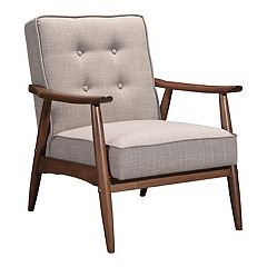 Zuo Modern Rocky Mid-Century Arm Chair