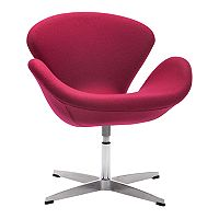 Zuo Modern Pori Arm Accent Chair
