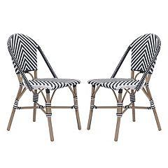 Zuo Modern Paris Patio Dining Chair 2-piece Set