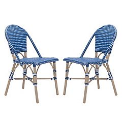 Zuo Modern Paris Patio Dining Chair 2-piece Set