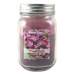 Everyday Memories Fresh Lilac 12.5-oz. Tri-Pour Candle Jar