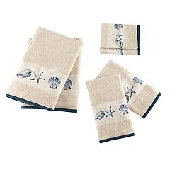 Madison Park Nantucket Embroidered Jacquard 6-piece Towel Set
