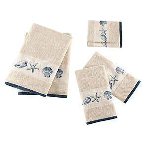 Madison Park Nantucket Embroidered Jacquard 6-piece Towel Set