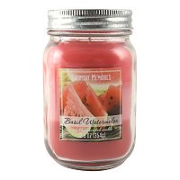 Everyday Memories Basil Watermelon 12.5-oz. Tri-Pour Candle Jar