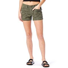 Juniors' Unionbay Stretch Twill Shorts