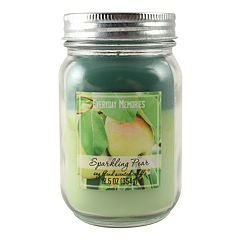 Everyday Memories Sparkling Pear 12.5-oz. Tri-Pour Candle Jar