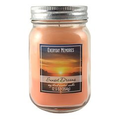 Everyday Memories Sunset Dreams 12.5-oz. Candle Jar