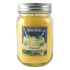 Everyday Memories Lemonade 12.5-oz. Candle Jar