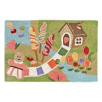 Trans Ocean Imports Liora Manne Frontporch Fun & Sweets Indoor Outdoor Rug