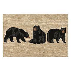 Liora Manne Frontporch Bears Indoor Outdoor Rug