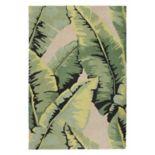 Trans Ocean Imports Liora Manne Lalunita Palm Leaf Rug