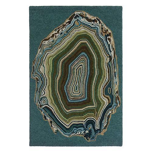 Liora Manne Lalunita Agate Abstract Rug