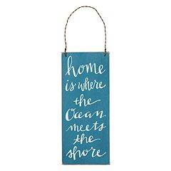 'Home Is Where' Wall Decor